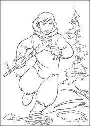plansa de colorat brother bear de colorat p40