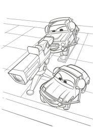 plansa de colorat cars de colorat p03