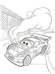 plansa de colorat cars de colorat p07