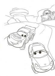 plansa de colorat cars de colorat p10