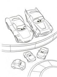 plansa de colorat cars de colorat p13