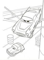 plansa de colorat cars de colorat p19