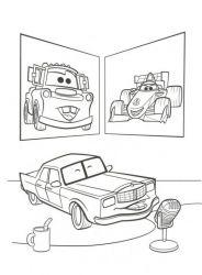 plansa de colorat cars de colorat p21