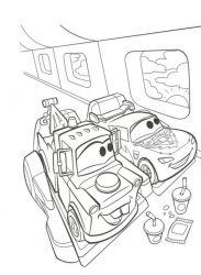 plansa de colorat cars de colorat p22