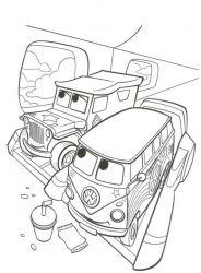 plansa de colorat cars de colorat p24