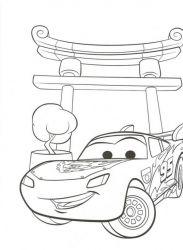 plansa de colorat cars de colorat p26