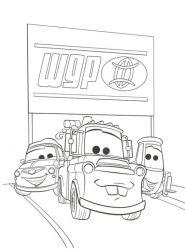 plansa de colorat cars de colorat p31