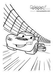 plansa de colorat cars de colorat p47