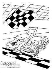 plansa de colorat cars de colorat p50