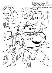 plansa de colorat cars de colorat p52