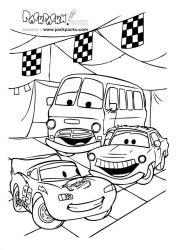 plansa de colorat cars de colorat p55