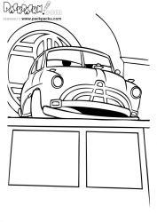 plansa de colorat cars de colorat p59