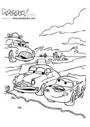 plansa de colorat cars de colorat p71