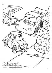 plansa de colorat cars de colorat p77
