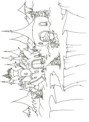plansa de colorat castele de colorat p01