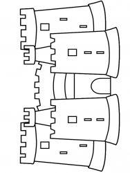 plansa de colorat castele de colorat p09