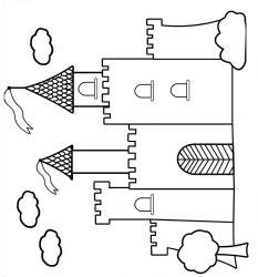 plansa de colorat castele de colorat p16