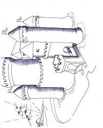 plansa de colorat castele de colorat p23
