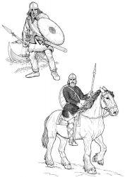 plansa de colorat cavaleri de colorat p33