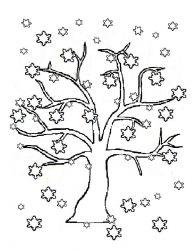 plansa de colorat copaci de colorat p18