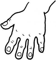 plansa de colorat corpul uman de colorat p17