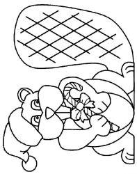 plansa de colorat craciun animale de colorat p01