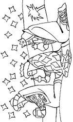plansa de colorat craciun cei trei magi de colorat p35