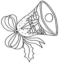 plansa de colorat craciun clopotei de colorat p04