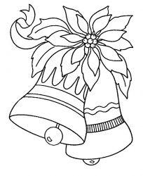 plansa de colorat craciun clopotei de colorat p07