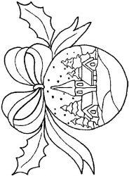 plansa de colorat craciun globuri de colorat p04