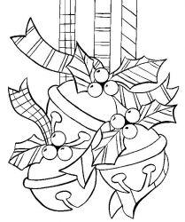 plansa de colorat craciun globuri de colorat p18