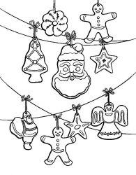 plansa de colorat craciun ornamente de colorat p05