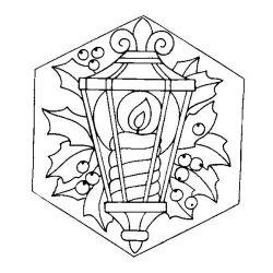 plansa de colorat craciun ornamente de colorat p06