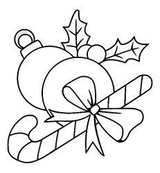 plansa de colorat craciun ornamente de colorat p21
