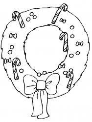 plansa de colorat craciun ornamente de colorat p40