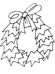 plansa de colorat craciun ornamente de colorat p42