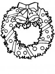 plansa de colorat craciun ornamente de colorat p43