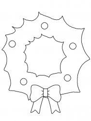plansa de colorat craciun ornamente de colorat p58
