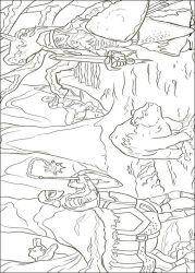 plansa de colorat cronicile din narnia de colorat p06