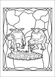 plansa de colorat cronicile spiderwick de colorat p02