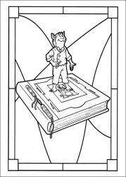 plansa de colorat cronicile spiderwick de colorat p06
