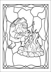 plansa de colorat cronicile spiderwick de colorat p07