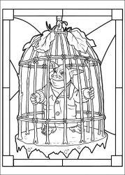 plansa de colorat cronicile spiderwick de colorat p09