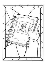 plansa de colorat cronicile spiderwick de colorat p14