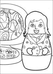 plansa de colorat eroii orasului higgly de colorat p25