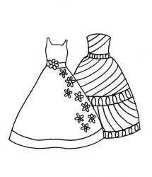 plansa de colorat fashion de colorat p51