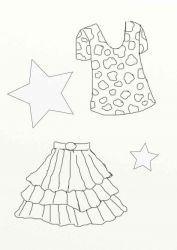 plansa de colorat fashion de colorat p54