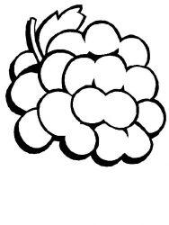 plansa de colorat fructe de colorat p07
