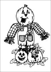 plansa de colorat hallowen de colorat p09