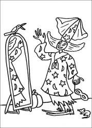 plansa de colorat hallowen de colorat p15